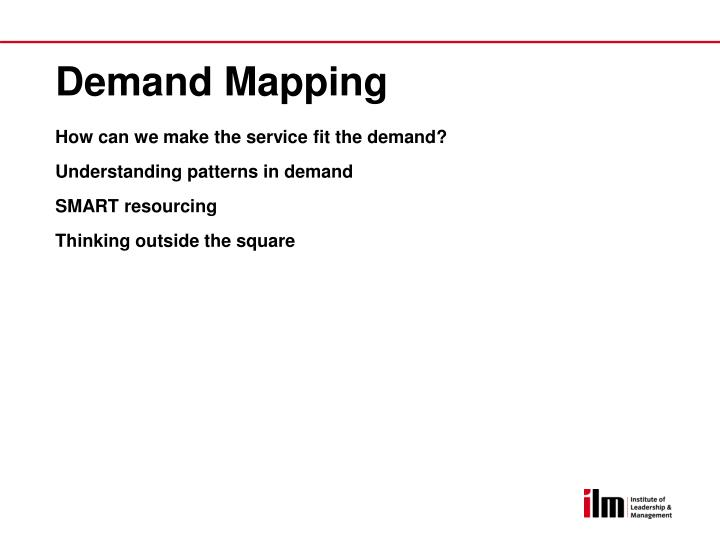 Demand Mapping