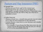 pasture and hay insurance prf6