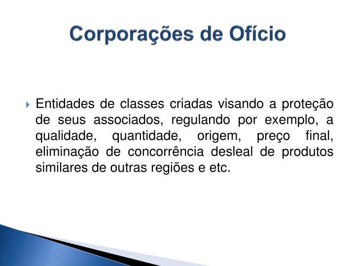 Corporações de Ofício