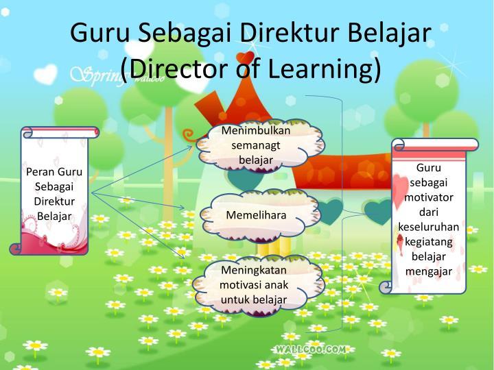 Guru Sebagai Direktur Belajar (Director of Learning)