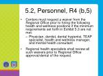 5 2 personnel r4 b 5