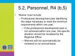 5 2 personnel r4 b 51