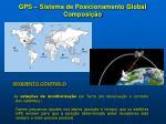 gps sistema de posicionamento global composi o1