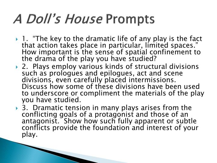 a doll s house prompts n.