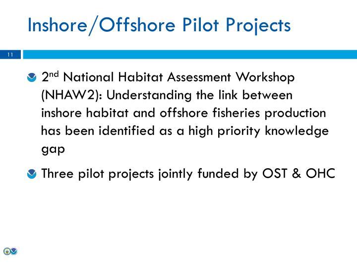 Inshore/Offshore Pilot Projects