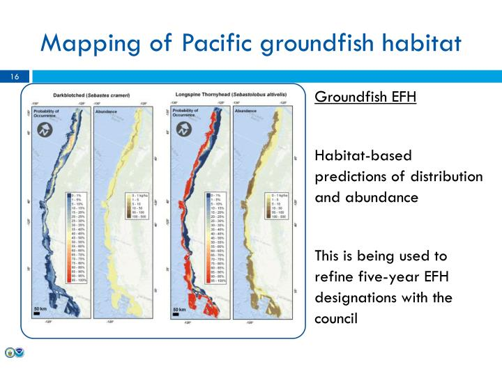 Mapping of Pacific