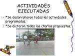 actividades ejecutadas1