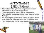 actividades ejecutadas2