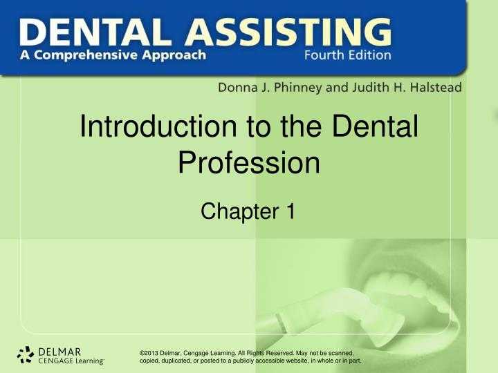 introduction to the dental profession n.