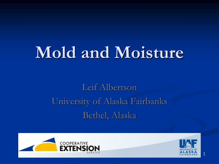 mold and moisture n.