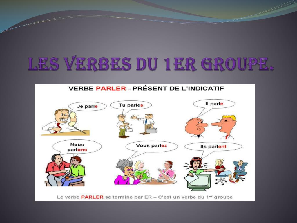 Ppt Les Verbes Du 1er Groupe Powerpoint Presentation Free Download Id 6240623