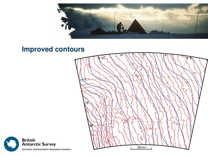 Improved contours