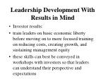 leadership development with results in mind4