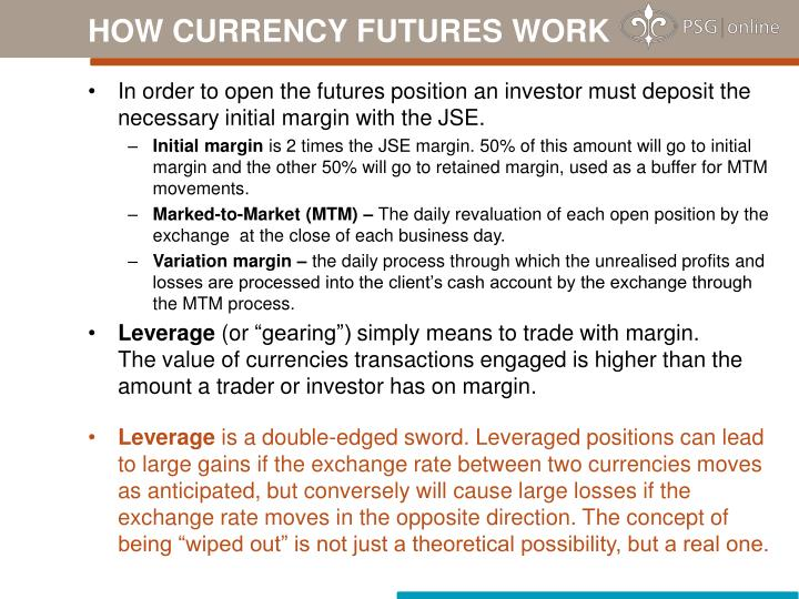 HOW CURRENCY FUTURES WORK