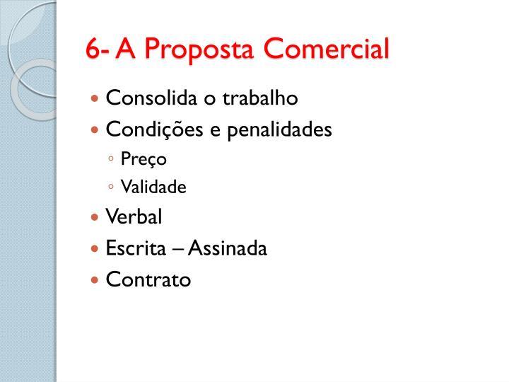 6- A Proposta Comercial