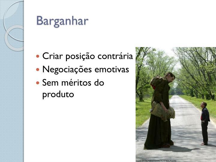 Barganhar