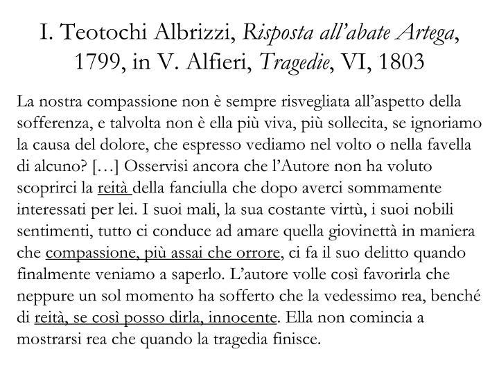 I. Teotochi Albrizzi,