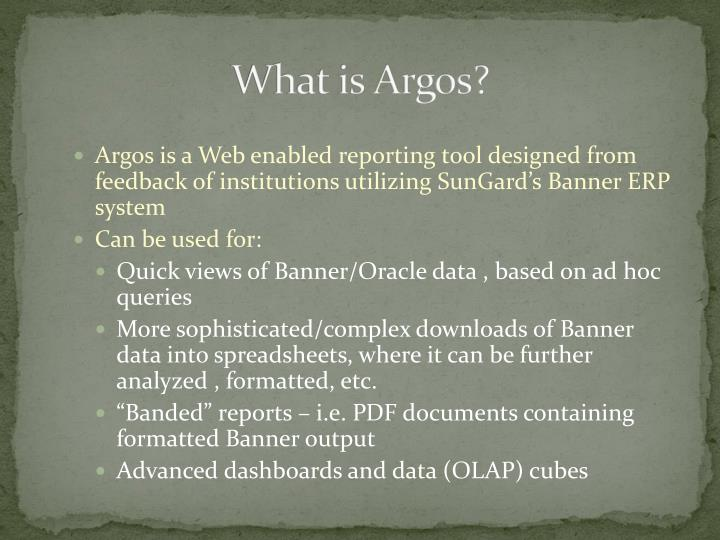 What is argos