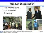 the opening talks the main talks summary