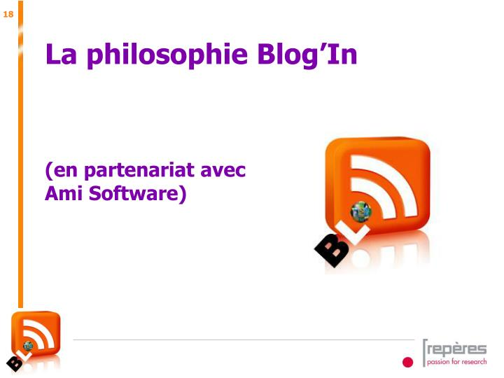 La philosophie Blog'In