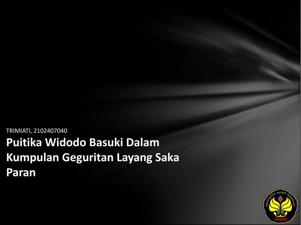 Ppt Trimiati 2102407040 Puitika Widodo Basuki Dalam Kumpulan