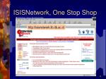 isisnetwork one stop shop