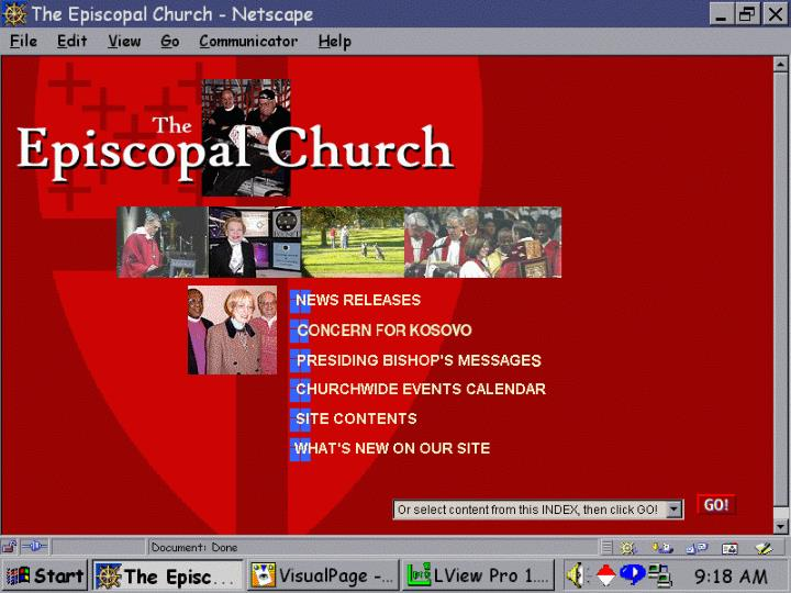 Internet technology for congregations