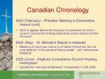 canadian chronology11