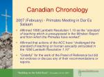canadian chronology15