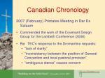 canadian chronology16
