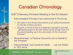 canadian chronology17