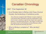 canadian chronology20
