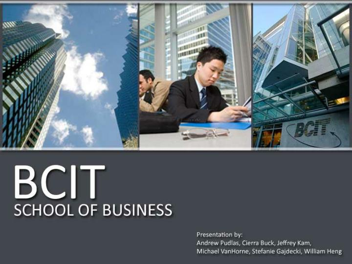 bcit school of business n.