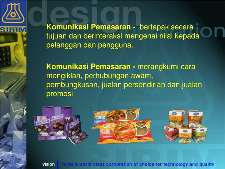 Komunikasi Pemasaran -