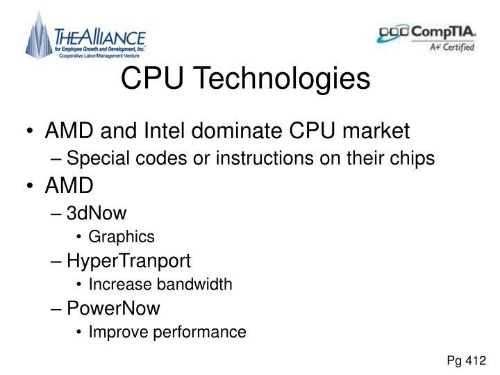 CPU Technologies