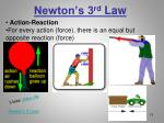 newton s 3 rd law