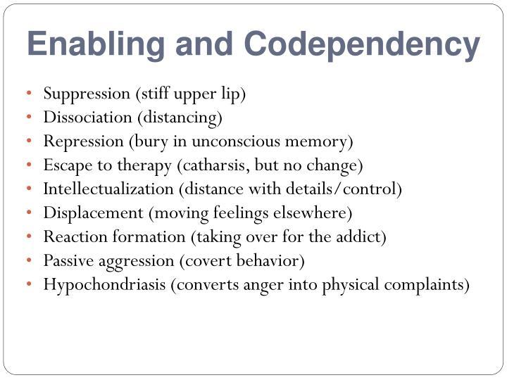 Enabling and Codependency