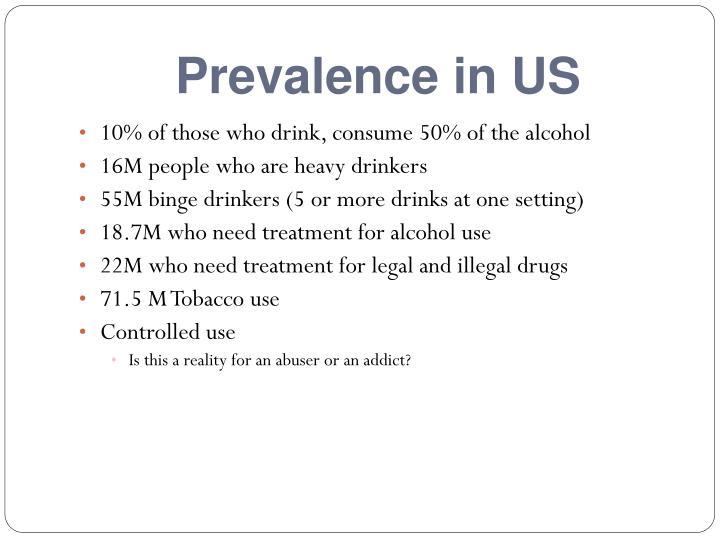 Prevalence in us