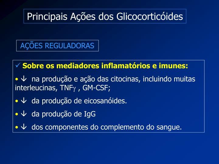 Principais Ações dos Glicocorticóides