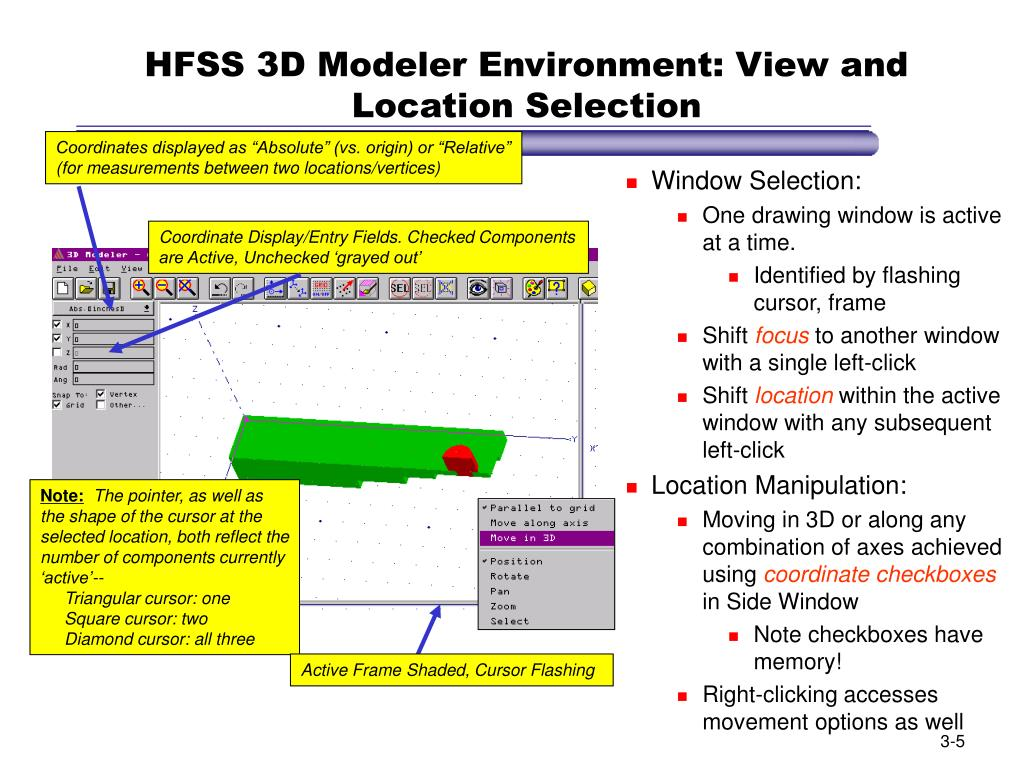 PPT - Section 4: The 3D Modeler PowerPoint Presentation - ID