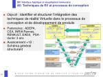 sp1 interface haptique et visualisation immersive a6 techniques de rv et processus de conception
