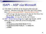 isapi asp c a microsoft