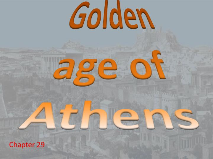 golden age of athens n.