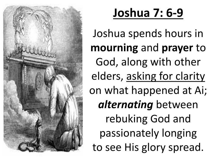 Joshua 7: 6-9