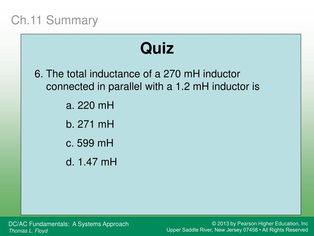 PPT - Inductors PowerPoint Presentation, free download - ID