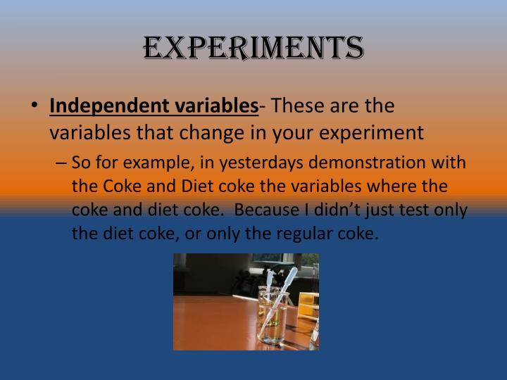 Experiments1