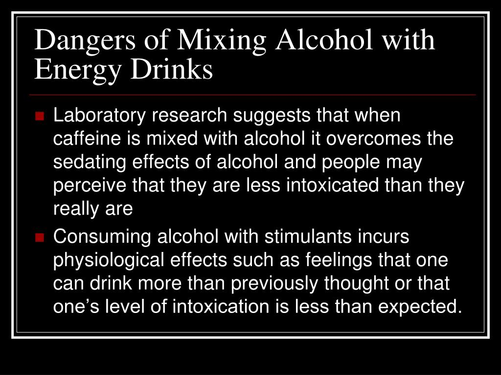 PPT - The Dangers of Caffeine-Spiked Energy Drinks