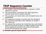 tkip sequence counter