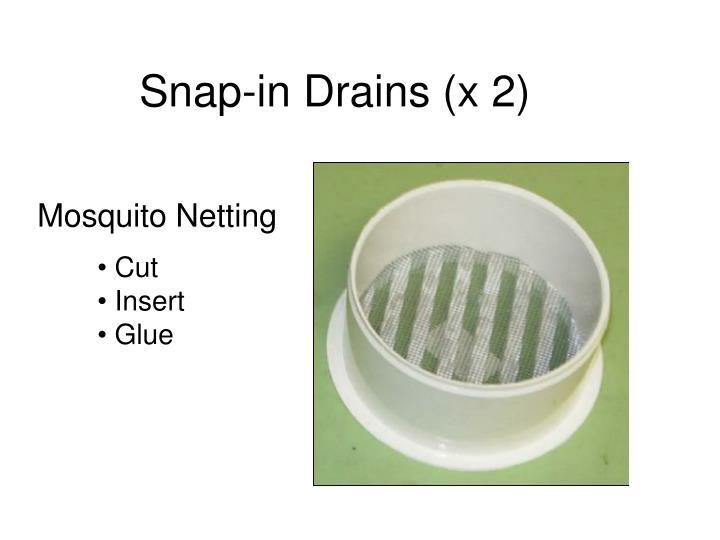 Mosquito Netting To Make Food