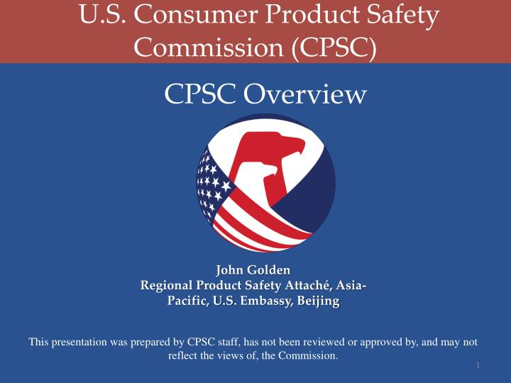 u s consumer product safety commission cpsc n.